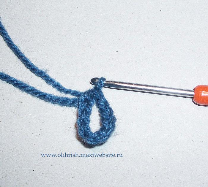 爱尔兰花边教程:简易的平面蓝玫瑰(大师班) - maomao - 我随心动
