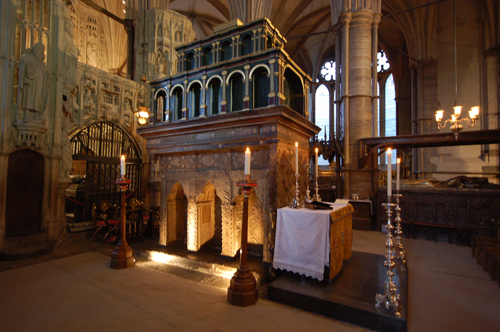 Shrine of Edward the Confessor - Westminster Abbey (500x332, 211Kb)