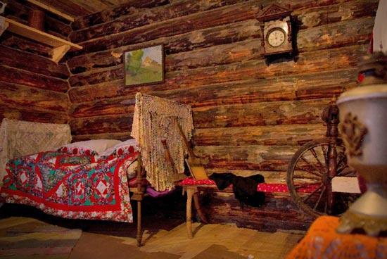 Вечерние красоты русской деревни фото.