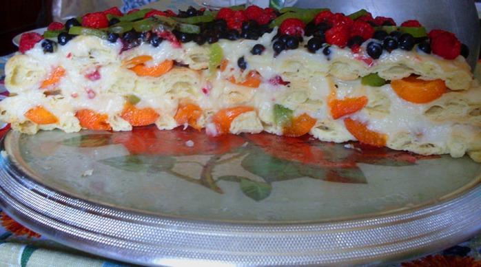 рецепт торта тропиканка с фото