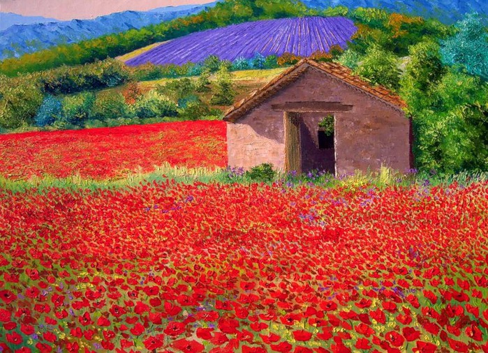 Масляная живопись, яркие картины, картины импрессионистов,французские импрессионисты, jean-marc janiaczyk/4394340_J_P2 (700x506, 182Kb)