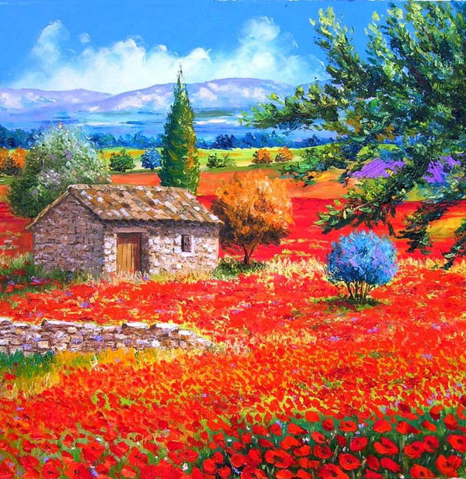 Импрессионизм картины цветы