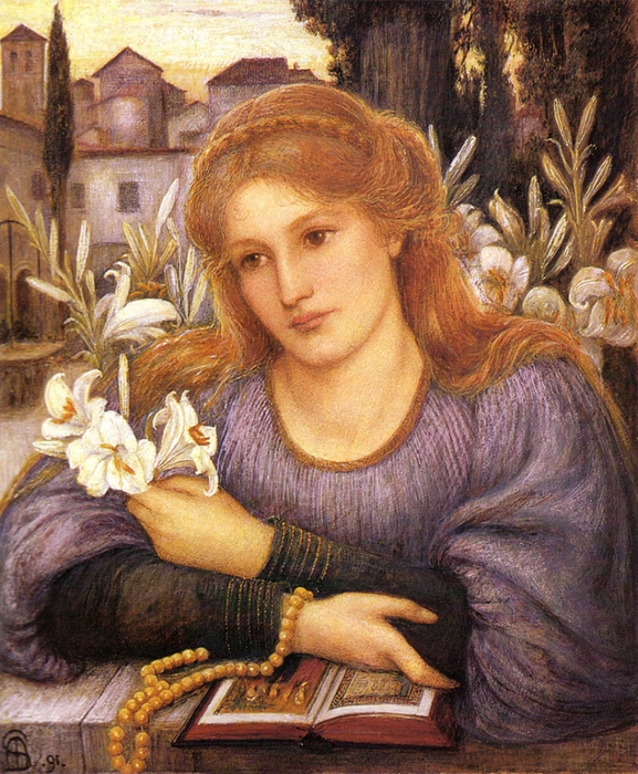 2382183_Marie_Spartali_Stillman_ConventLily1891 (577x700, 396Kb)