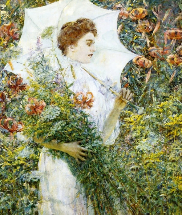 2382183_Robert_Lewis_Reid_18621939_The_White_Parasol (591x700, 411Kb)