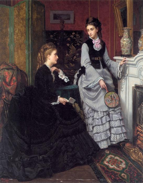 Portielje Jan Frederik Pieter (1826 - 1895).Portielje-Jan-A-Moment-by-the-Fire (547x700, 339Kb)