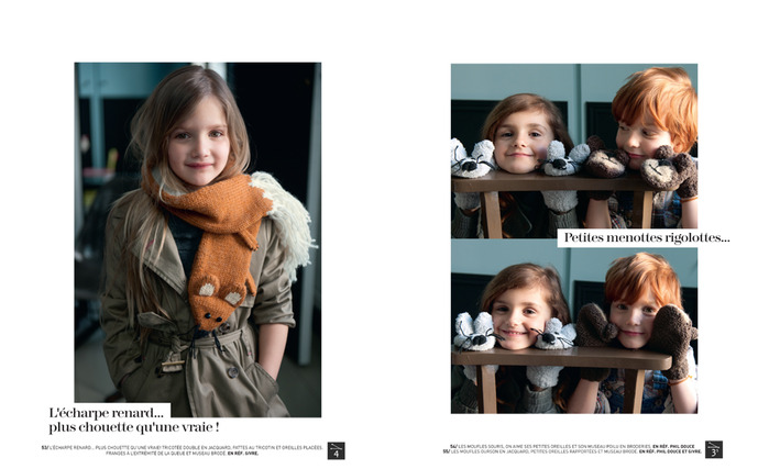 phildar  58-2011 knitted accessories for the whole family (model)