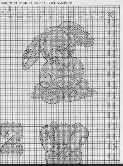 Схемы для вышивки крестом somebunny to love схемы вышивки