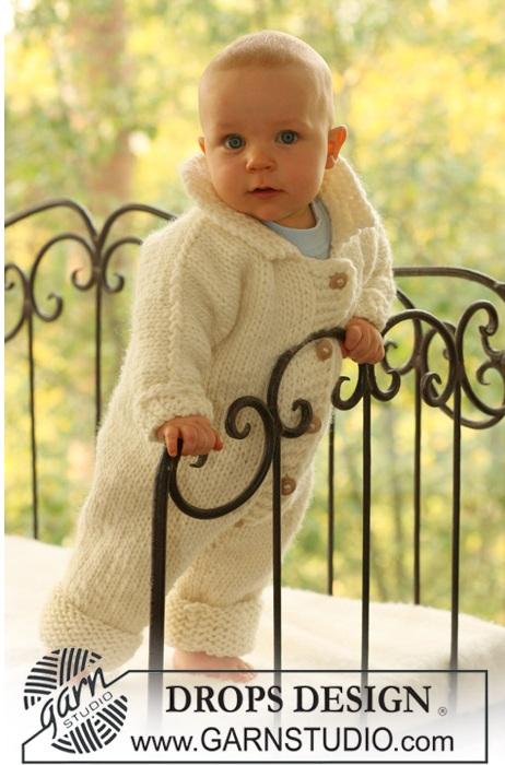 Одеваемся со вкусом.  Комбинезон детский вязаный .  Кройка, шитье, вязание - способы и приемы.