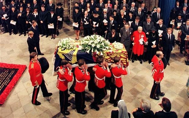 September 1997 Funeral of Diana, Princess of Wales July 1, 1961 – 31 August 1997 (620x388, 80Kb)