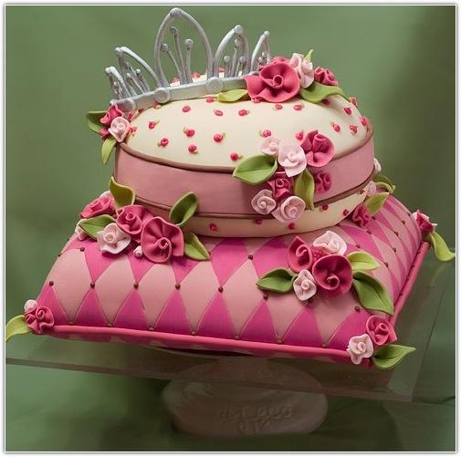 Красивый торт на день рождения девочке