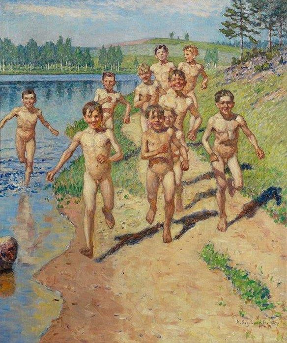 928775_Nikolai_BogdanovBelsky_1868_1945_Nach_dem_Bade (584x700, 123Kb)