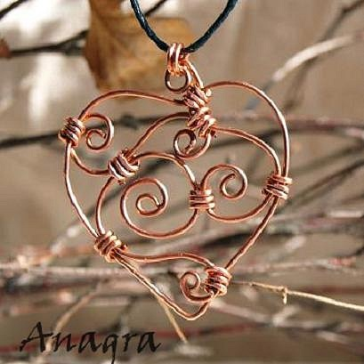 Сердце из металла своими руками 92