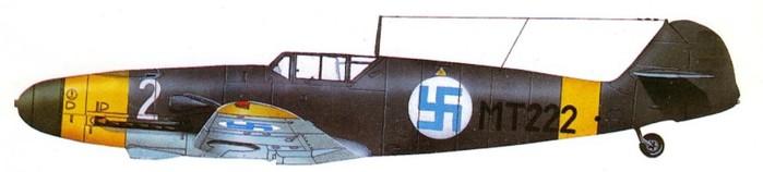 04 Bf-109G2 Эйно Юутилайнена (700x158, 25Kb)