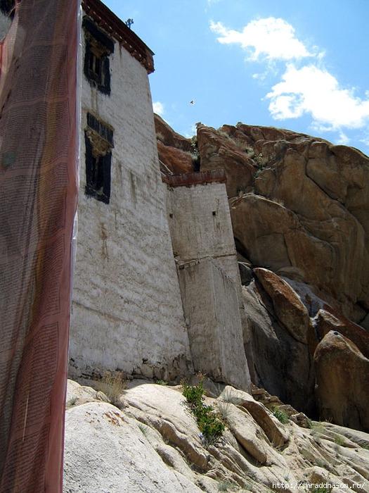 Индия, Ладакх, окрестности Леха, монастырь Tak Thog (0) (525x700, 294Kb)