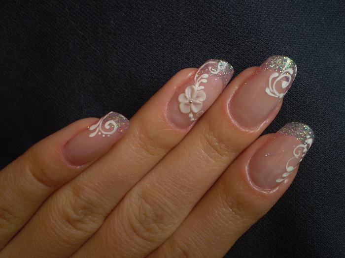 Рисунки на ногти своими руками на короткие ногти