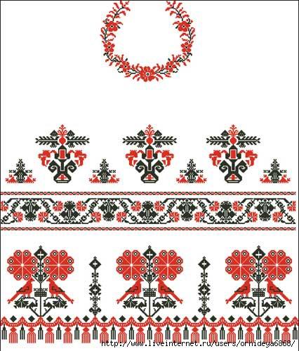 журнал узоры вышивок рушники