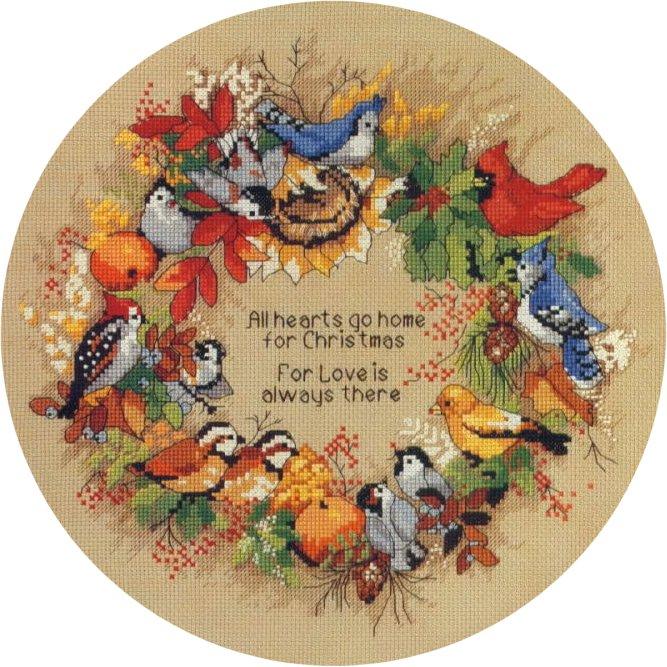 Dimensions - Bird's Wreath (667x667, 115Kb)