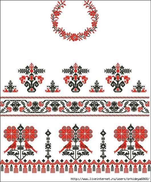 Просмотров. svetik15. рушники. символы на рушниках.