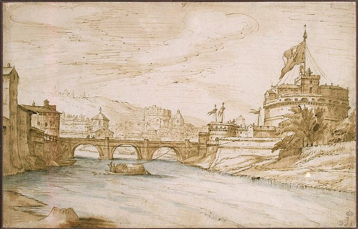 View-of-the-Castel-of-Sant-Angelo (700x448, 92Kb)