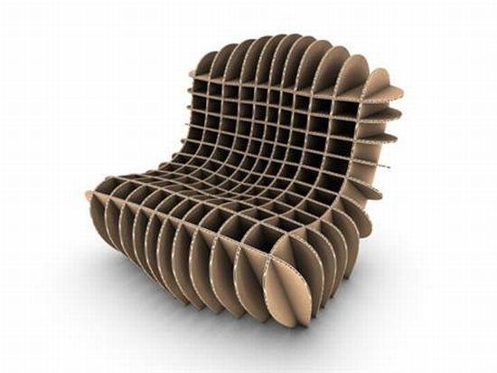 Устойчивая картонная мебель становится важным вариантом.