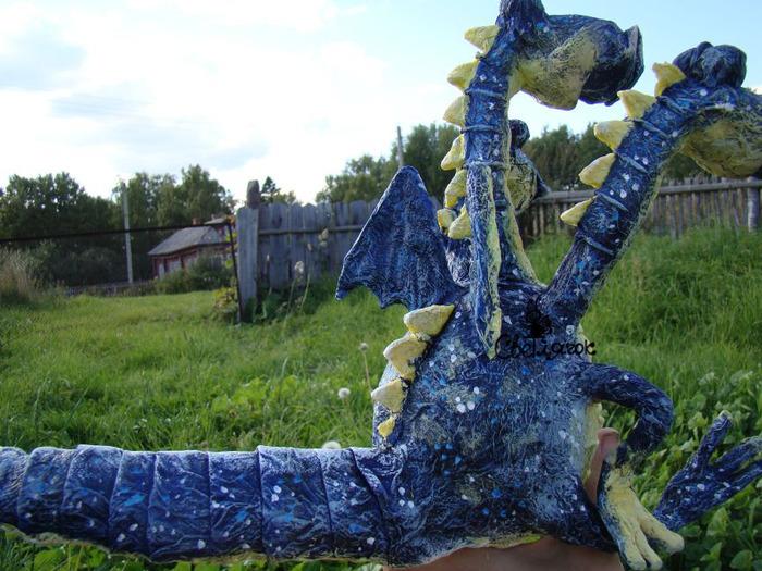 Скульптуры для дачи своими руками из папье-маше 559