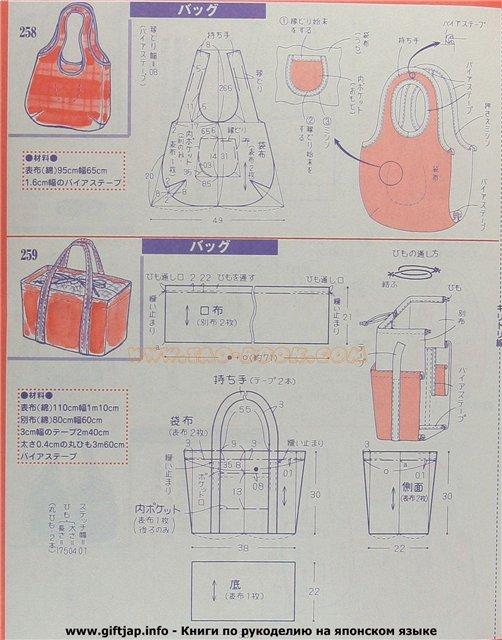Фото сумок сшитых из ткани