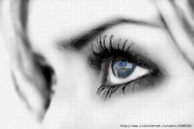картинки глаза женские
