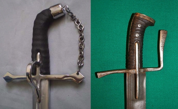 05 рукояти венгеро польских сабель (570x350, 141Kb)