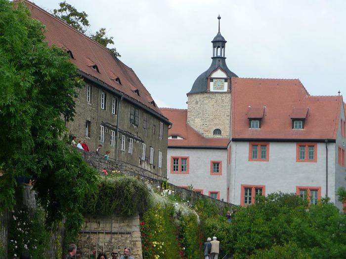 Замки Дорнбург-на-Заале 85754