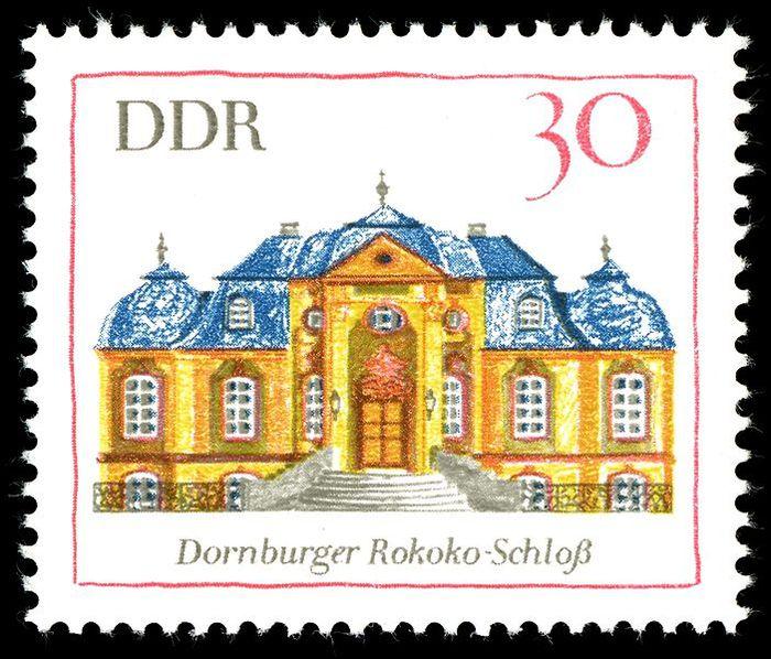 Замки Дорнбург-на-Заале 66603