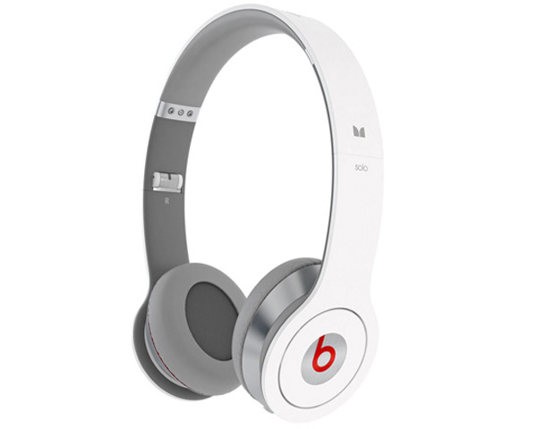 Наушники Monster Beats by Dr. Dre Solo HD White ControlTalk.