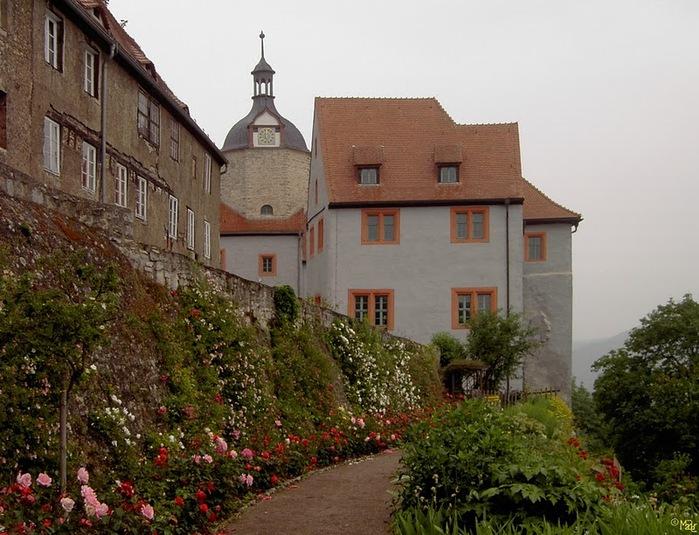 Замки Дорнбург-на-Заале 28229