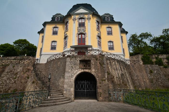 Замки Дорнбург-на-Заале 19191