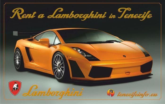 Arenda, prokat, rent a Lamborghini in Tenerife tenerifeinfo.eu (700x440, 39Kb)