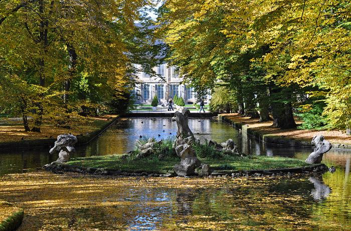 Красивые парки мира - парк Хофгартен (Hofgarten) в Мюнхене, Германия