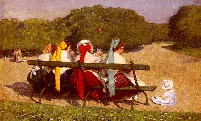 Luigi Rossi. 1853-1923-In-The-Park (700x422, 293Kb)