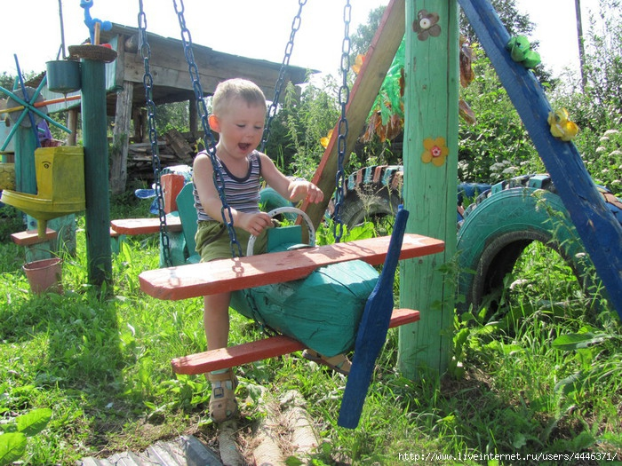 Самолет из дерева на детскую площадку своими руками