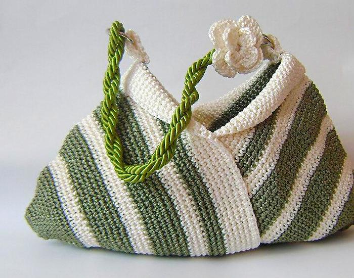 ...своими руками. вязаные сумки спицами с, мк вязание детского берета.