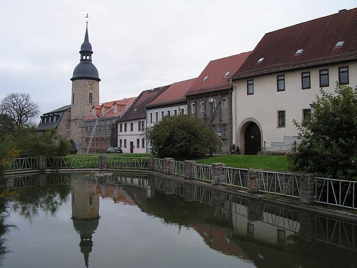 Замки Дорнбург-на-Заале 22656