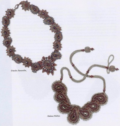 плетение изделий из бисера.