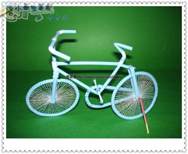 Велосипед из дерева поделка 13