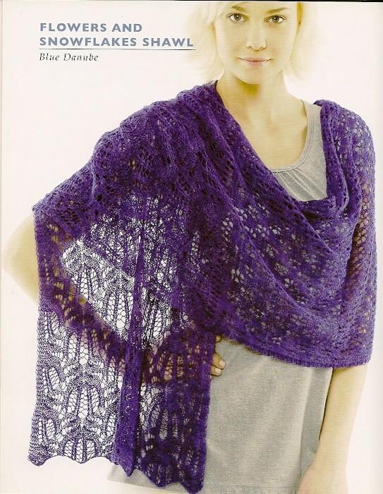Палантины шарфы спицами 2