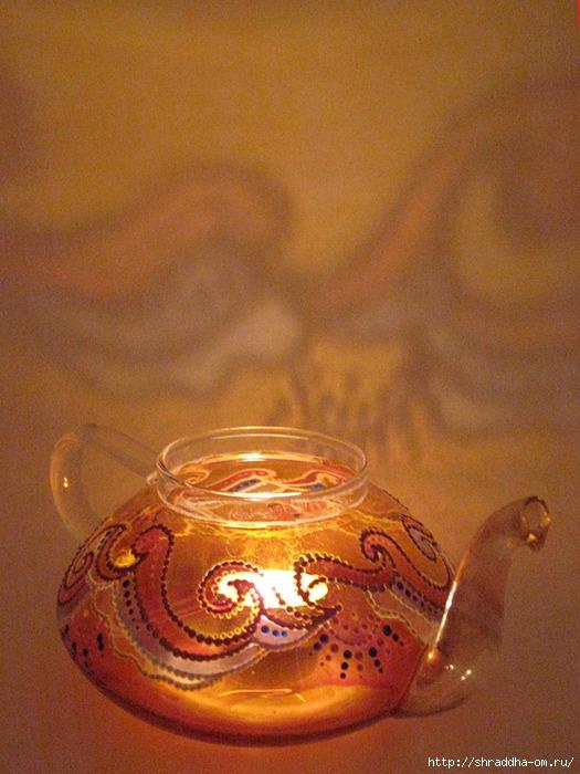 чайник-подсвечник, витражная роспись, автор Shraddha (10) (525x700, 269Kb)