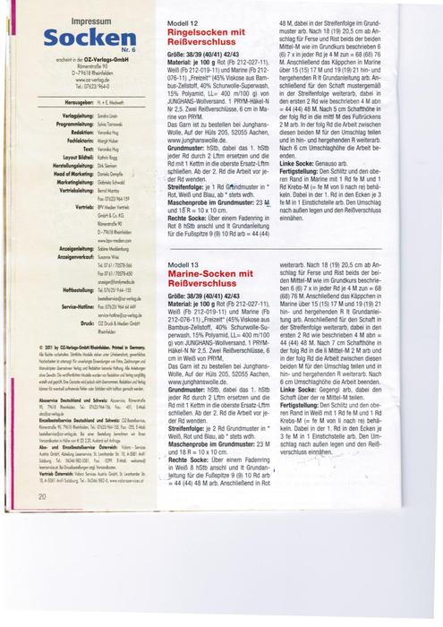 socken nr.  6 häkeln (6) (495x700, 260Kb)