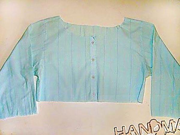 Из старой блузки