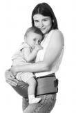 Переноска (хипсит) -Mum's Era-, серый - одежда для кормления, одежда для кормящих, слинг, белье для кормящих, купить слинг_1315064885093 (110x164, 23Kb)