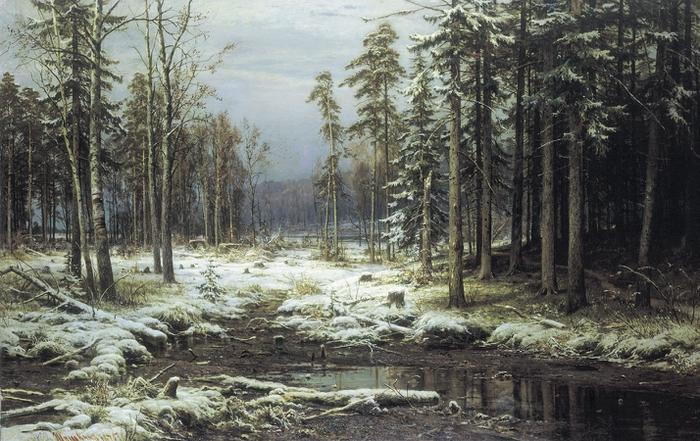 Пейзажи природы картины русских