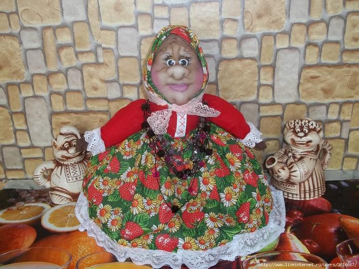 Куклы своими руками из колготок на чайник