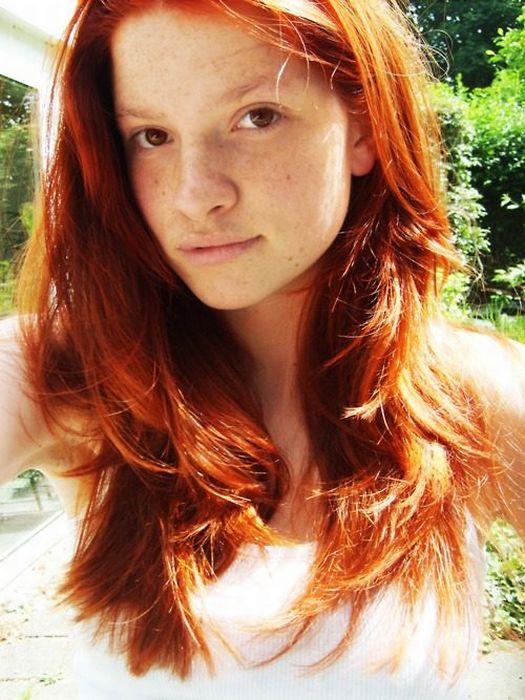 Рыжеволосые девушки картинки сзади 6 фотография