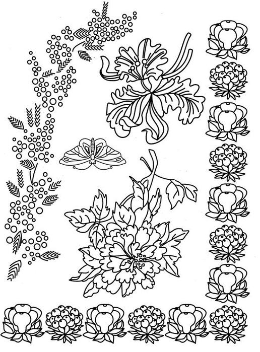 узоры для рисования - МОДА